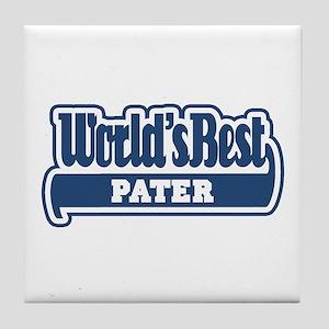 WB Dad [Latin] Tile Coaster